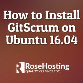 How to Install GitScrum on Ubuntu 16.04