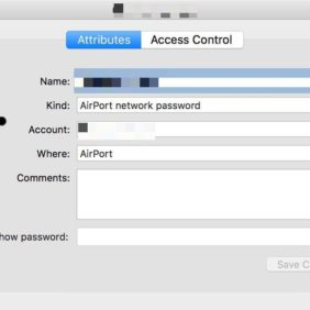 #How to# Find your Wifi password in Macos