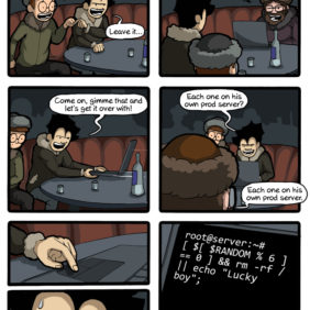 Lmao: Command Line Russian Roulette For Linux and Unix Users